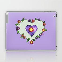 Heartily Floral Laptop & iPad Skin