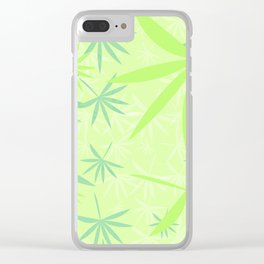 Leaves 2d Clear iPhone Case