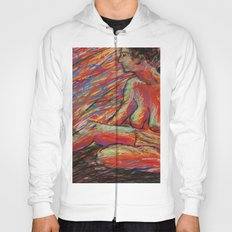 Hypatia on Fire Hoody