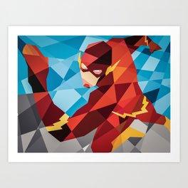 DC Comics Flash Art Print