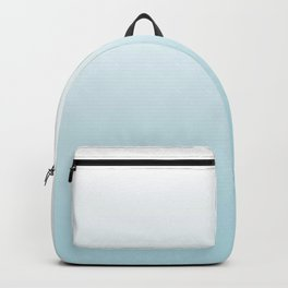 Ombre Blue Plume Backpack