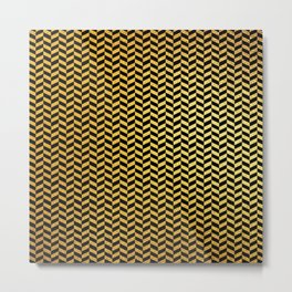 Art Deco Alegria Pattern Metal Print