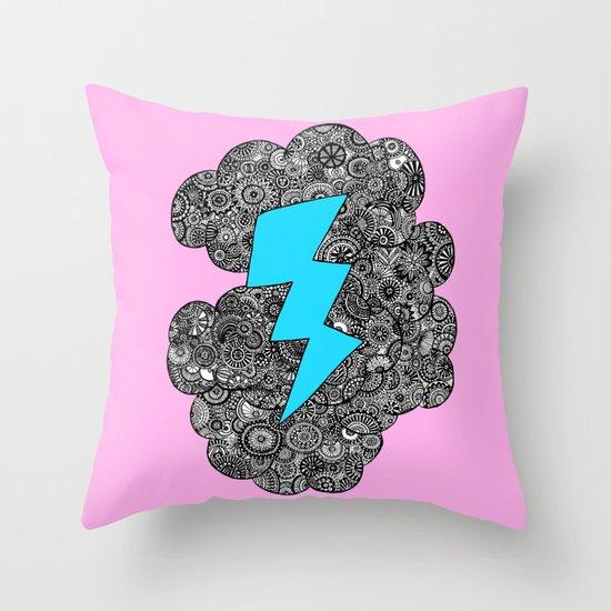 Super Storm Throw Pillow