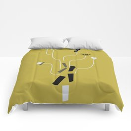 Clueless Bramble [Gold] Comforters