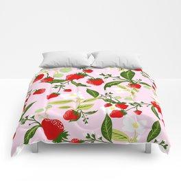 strawberries juicy and juicy Comforters