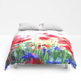 Poppy Haze Comforters