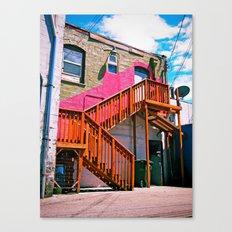 Alleyway architecture Canvas Print