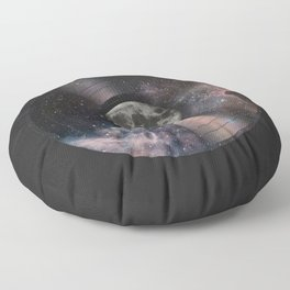 L.P. (Lunar Phonograph) Floor Pillow