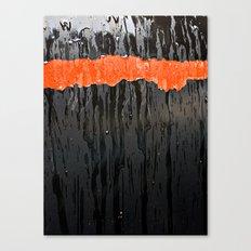 Orange Stripe Canvas Print