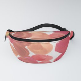 9   | 190408 Red Abstract Watercolour Fanny Pack