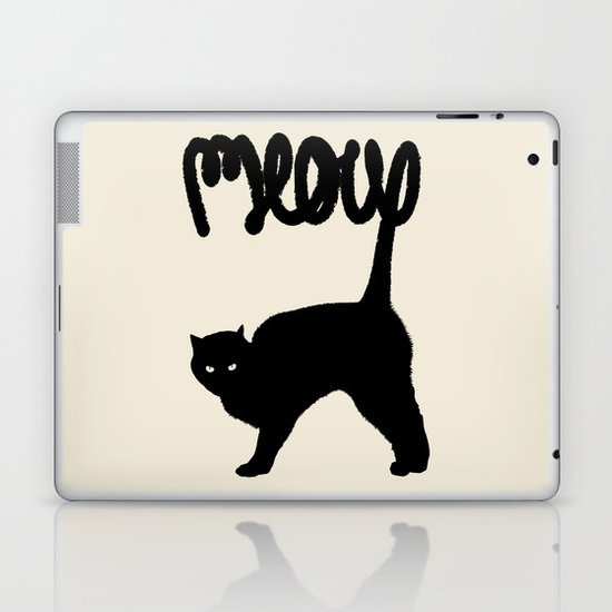 Meow Laptop & iPad Skin