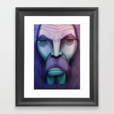 old wizard Framed Art Print