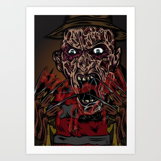 Keep Dreamin' Krueger Art Print