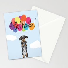 Lola The Sausage Stationery Cards