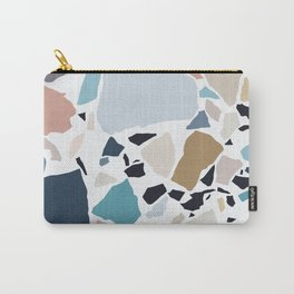 Pastel Terrazzo Carry-All Pouch