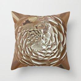 Schooner Orb Throw Pillow