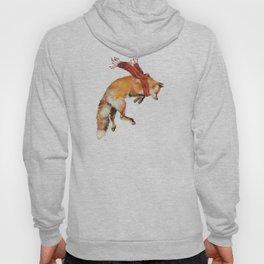 Christmas Jumping Red Fox Hoody
