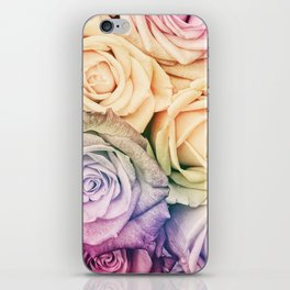 Some people grumble - Colorful Roses - Rose pattern iPhone Skin