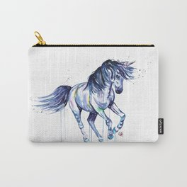 Unicorn - Unicorn Dreams - Colorful Watercolor Unicorn Painting Carry-All Pouch