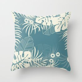 Tropical pattern 047 Throw Pillow