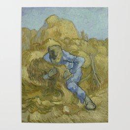 The Sheaf-Binder (after Millet) Poster