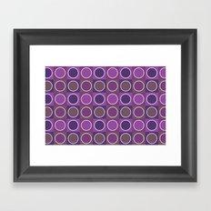 Dots 2 Framed Art Print