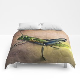 The Firefly and the Grasshopper Comforters
