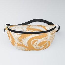 Splash & Swirls Pattern • Saffron Fanny Pack