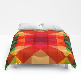 Abstract Bright Flower Pandi Comforters