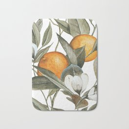 Orange Blossom Bath Mat