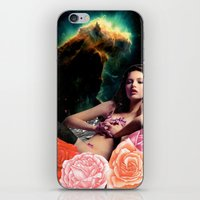 american beauty iPhone & iPod Skins featuring American Space Beauty by Lexi Colt