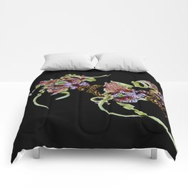 Dendrobium Spectible (The Alien Orchid) Comforters
