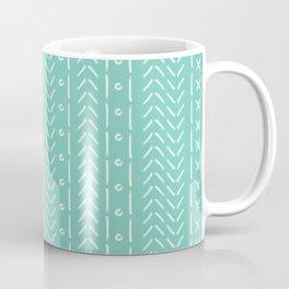 Aqua menthe boho pattern Coffee Mug