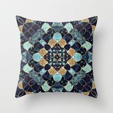 REALLY MERMAID - MYSTIC BLUE Throw Pillow