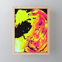 Solar Flare Wave Framed Mini Art Print