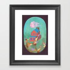 Lloyd's House Framed Art Print