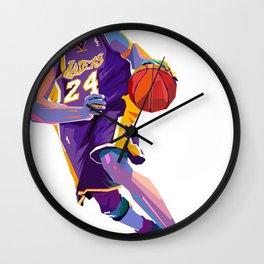 Basketbal player legend Wall Clock