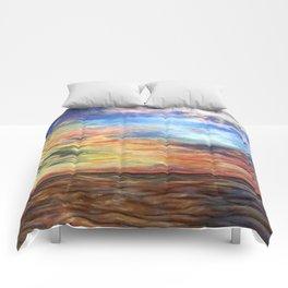 Sunset for Georgia Comforters
