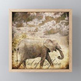 Out of Africa Framed Mini Art Print