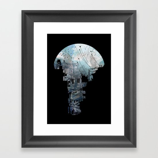 Secret Streets II Framed Art Print