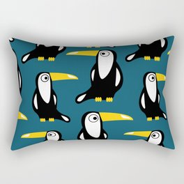 toucans all around Rectangular Pillow