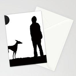 GREYHOUND WALK Stationery Cards
