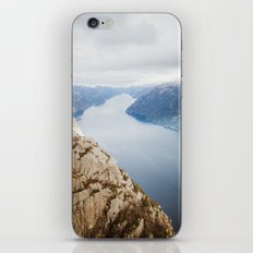 Lysefjord, Norway in Winter iPhone & iPod Skin