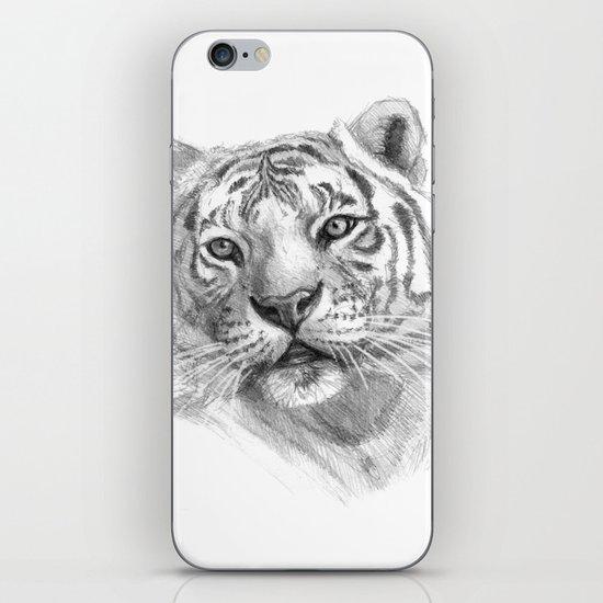 Sentimental Tiger SK118 iPhone & iPod Skin