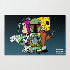 Jetpack Buddies Canvas Print