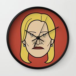 Face of Breaking Bad: Skyler White Wall Clock