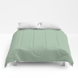 Nature's Delicacy ~ Soft Olive Green Comforters