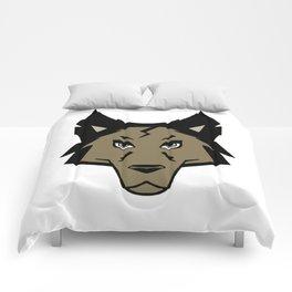 Knightwolf Logo Comforters