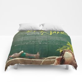 Call Me By Your Name Comforters