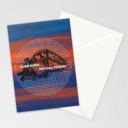 Slow Burn, Mutual Pining Stationery Cards